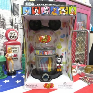 Mickey Mouse Jelly Belly Bean Machine ミッキーマウス ジェリーベリー ビーンズマシーン JellyBelly ベリーマシーンクリスマス / ギフト【...
