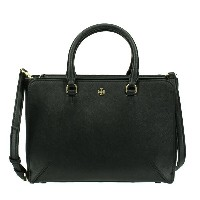 TORY BURCH トリーバーチ トートバッグ 11169775 001 ROBINSON SMALL ZIP TOTE LEATHER RIVIERA