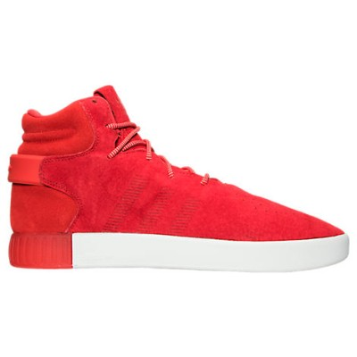 adidas Tubular Invader QS Casual Shoes メンズ Red/Red/Vintage White アディダス カジュアルシューズ