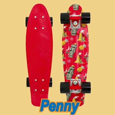 PENNY SKATEBOARDS/ペニースケートボード ISLAND ESCAPE WEIRD REALITY COLLECTION PENNY/ペニー 22 ミニクルーザースケボー 送料無料...