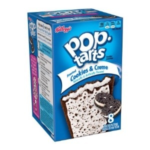 Kellogg's POP-tarts Frosted Cookies & Creme 8ct/14.1oz/400g /ケロッグ ポップタルト クッキー&クリーム 50g×8枚入り