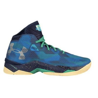 """Under Armour Curry 2.5 """"Select Camp"""" メンズ Blue Heat/Midnight Navy/Taxi アンダーアーマー バッシュ カリー2.5 Stephen..."""