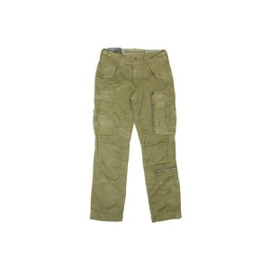 POLO RALPH LAUREN COTTON CHINO CARGO PANTS (710559467002: ULTILITY GREEN)ポロラルフローレン/カーゴパンツ/グリーン