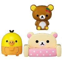 こえだMeets リラックマ 【女の子 プレゼント 木のおうち セット シリーズ フィギュア ドール キャラクター フィギュア Rilakkuma コラボ プレゼント クリスマス 誕生日...