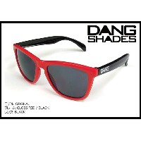 DANG SHADES ORIGINAL Gloss Red / Black x Black vidg00202 レンズ トイサングラス