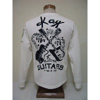 Groovers[グルーヴァーズ] ロンT KAY ELECTRIC GUITARS (WHITE)