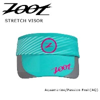 即日発送!【Zoot/ズート】 バイザー STRETCH VISOR/Aquamarine/Passion Fruit(AQ) Z1602002010 お買い得