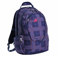 Athalon Luggage Computer Backpack コンピューターバックパック, Plaid, One Size