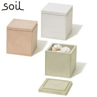 soil ソイル 珪藻土 フード コンテナー スクエア M 【FOOD CONTAINER square M】 K113 JAN: 4560339421137 【送料無料】【CPY】