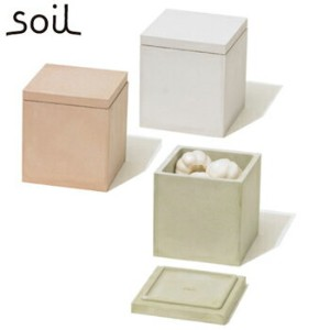 soil ソイル 珪藻土 フード コンテナー スクエア M 【FOOD CONTAINER square M】 K113 JAN: 4560339421137 【送料無料】