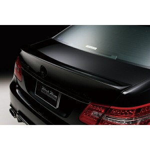 Mercedes Benz E-class W212 Sports Line Black Bision Edition 09~TRUNK SPOILER