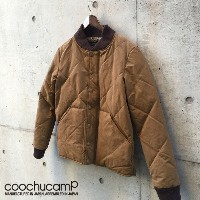 COOCHUCAMP(クーチューキャンプ) 【COOCHUCAMP×NANGA】 Happy Down Jacket /MADE.IN.JAPAN