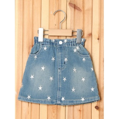 【SALE/73%OFF】X-girl Stages SKIRT STAR EMBROIDERY (4T~7T) エックスガールステージス スカート【RBA_S】【RBA_E】