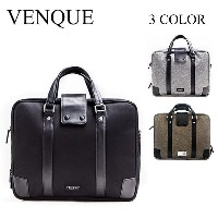VENQUE (ヴェンク) / ブリーフケース ビジネスバッグ / Hamptons Briefcase Black Edition / 3カラー展開 / 国内正規取扱店 / 1年間製品保証付き /...
