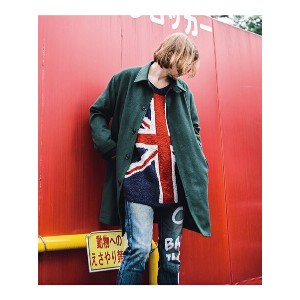 【SALE/40%OFF】GLAMB by glamb Green coat グラム コート/ジャケット【RBA_S】【RBA_E】【送料無料】