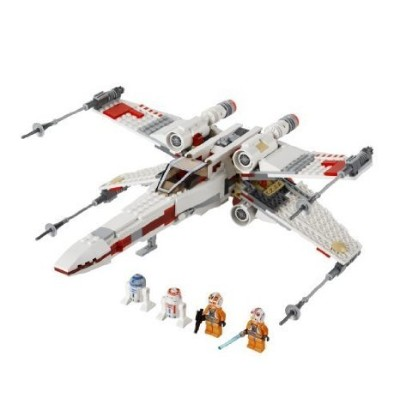 Game/Play LEGO (レゴ) Star Wars (スターウォーズ) X-Wing Starfighter 9493 Kid/Child ブロック おもち