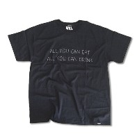 RHC Ron Herman (ロンハーマン): WXL (ダブルXL) ALL YOU CAN Tシャツ Black