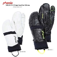 PHENIX 〔フェニックス グローブ〕 2017 DELTA Tri-Finger Leather Gloves PF678GL02