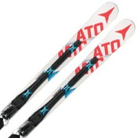 ATOMIC〔アトミック スキー板〕 2017 REDSTER FIS DOUBLEDECK 3.0 GS W + X12 VAR【金具付き・取付料送料無料】レーシング