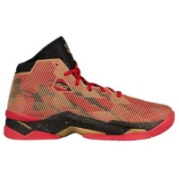"""Under Armour Curry 2.5 """"All America""""""""49ers"""" メンズ Red/Black/Metallic Gold アンダーアーマー バッシュ カリー2.5..."""
