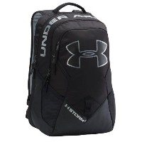 Under Armour Big Logo IV Backpack Black/Steel/Silver アンダーアーマー バックパック リュックサック