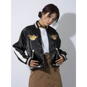 [Rakuten BRAND AVENUE]【SALE/45%OFF】SOUVENIR JACKET X-girl エックスガール コート/ジャケット【RBA_S】【RBA_E】【送料無料】
