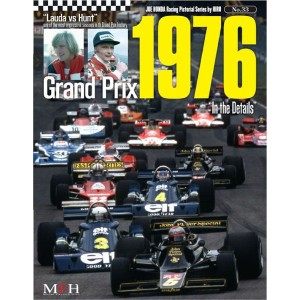 "NO.33 Grand Prix 1976""In the Details""  Joe HONDA Racing Pictorial Series by HIRO NO33【MFH BOOK..."