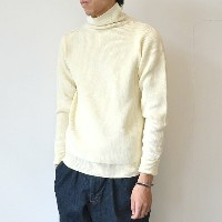 ANDERSEN-ANDERSEN(アンデルセン アンデルセン)/SAILOR SWEATER TURTLE NECK(7Gauge) -OFF WHITE-