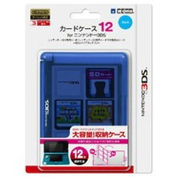 【3DS/DS】カードケース12 for ニンテンドー3DS ブルー ホリ [3DS-018]【返品種別B】