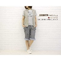【カナタ KANATA】CABLE ZIP-UP SHAWL COLLAR VEST・NKT1111-0341101【レディース】【RCP】【トップス】