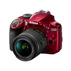 Nikon/ニコン D3400 18-55 VR レンズキット(レッド)