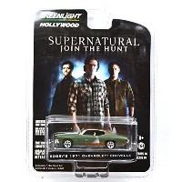 "GREENLIGHT 1:64SCALE HOLLYWOOD ""SUPERNATURAL~JOIN THE HUNT~"" ""BOBBY'S 1971 CHEVROLET CHEVELLE""..."