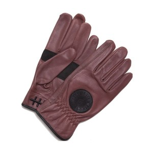 【LOSER MACHINE】ルーザーマシーン【Death Grip Leather Gloves】Ox Blood【レザーグローブ】グローブ【手袋】バイカー【CHOPPER】チョッパー