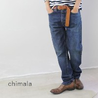 chimala(チマラ)14OZ NATURAL INDIGO SELVEDGE DENIMNARROW TAPERED CUTmade in japancs22-wp05a-h