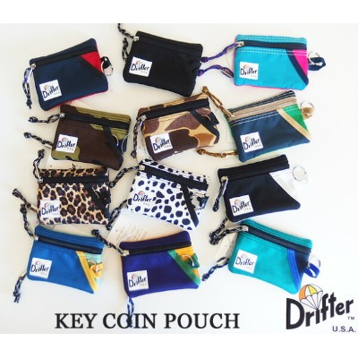 Drifter ドリフター KEY COIN POUCH キー コイン ポーチ