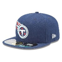 NFL タイタンズ キャップ/帽子 ネイビー ニューエラ On-Filed Performance 59FIFTY Fitted キャップ【セール】