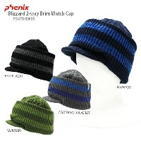 PHENIX 〔フェニックス ニット帽〕 2017 Blizzard 2-way Brim Watch Cap PS678HW38