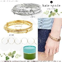 Kate Spade ケイトスペード スタック アタック バングルズ セット stack attack bangles set of 2 正規輸入品□