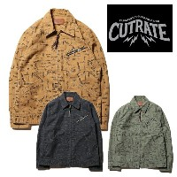 CUT RATE カットレイト ALLOVER PATTERN 91-B JACKET ジャケット