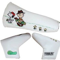 【LITE SNOOPY Putter Cover】 ライト スヌーピー パター カバー 【パター用】【H-357】