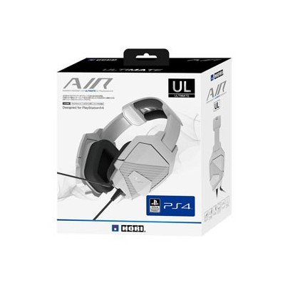 【PS4】ゲーミングヘッドセット AIR ULTIMATE for PlayStation4 ホリ [PS4-074]