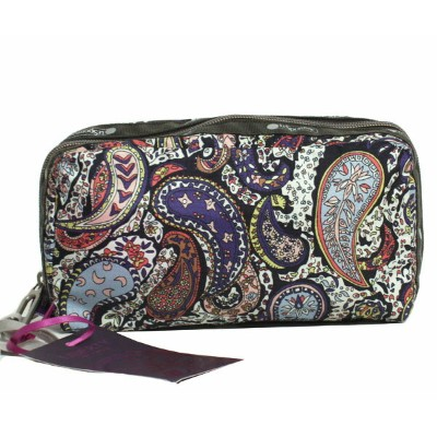 LeSportsac レスポートサック LIBERTY ART FABRICS ポーチ ESSENTIAL COSMETIC 2265 P985 EASTERN VOYAGE ペイズリー柄 リバティ