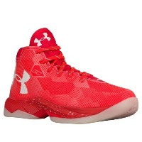 Under Armour Curry 2.5キッズ/レディース Rocket Red/White アンダーアーマー カリー2.5 バッシュ ステフィン・カリー