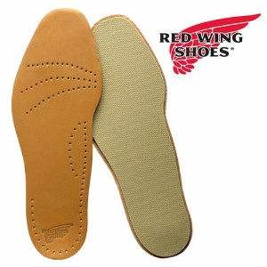 REDWING レッドウィング 純正インソール 薄手 牛革 LEATHER FOOTBED レザー・フットベッド 中敷き/ Style No.96356 【メール便OK】