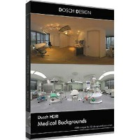 DOSCH DESIGN DOSCH HDRI: Medical Backgrounds DH-MEDB