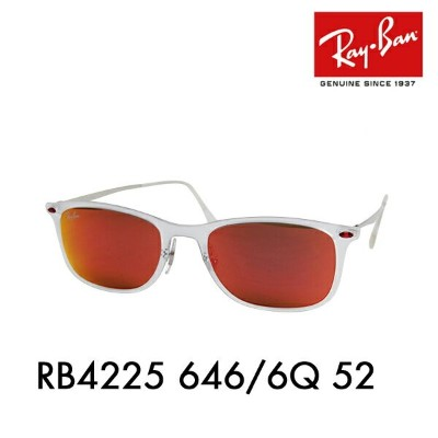 【OUTLET★SALE】アウトレット セール レイバン サングラス RB4225 646/6Q 52 Ray-Ban 伊達メガネ 眼鏡 ニューウェイファーラー
