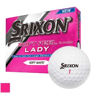 Srixon Soft Feel LADY Golf Balls【ゴルフ レディース>ボール】