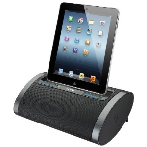iHome iDL48BC デュアル Charging Portable Rechargeable スピーカー with Lightning ドック and USB Charge/プレイ for...