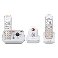 VTech SN6187 CareLineTM ホーム セーフティー ペンダント + Cordless Telephone with Charger SN6107 「汎用品」(海外取寄せ品)