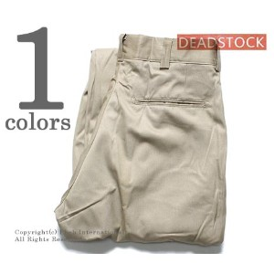 【FINAL PRICE/セール/50%←30%OFF!!】 デッドストック/DEADSTOCK アメリカ製 ''32inch'' 80's U.S.ARMY TROUSER チノトラウザー...